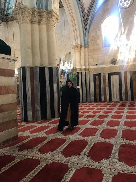 Izrael fotky v mešite