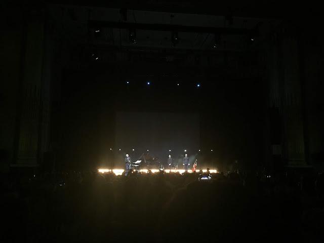Ludovico Einaudi in concert at the Usher Hall, Edinburgh