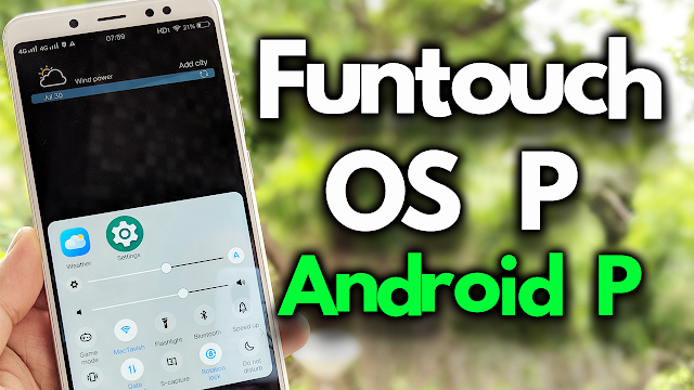 Android P Funtouch OS P