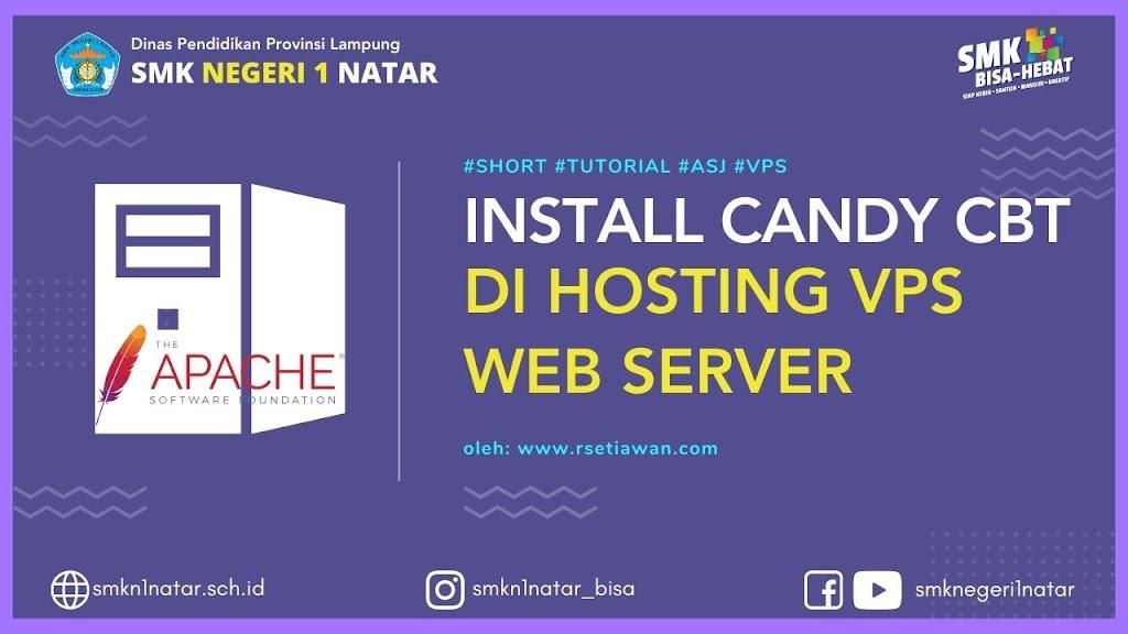 Install web server Candy CBT di Hosting VPS