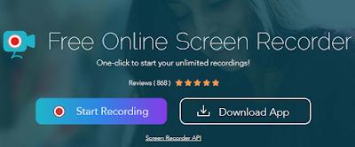 برنامج تسجيل الشاشة Apowersoft