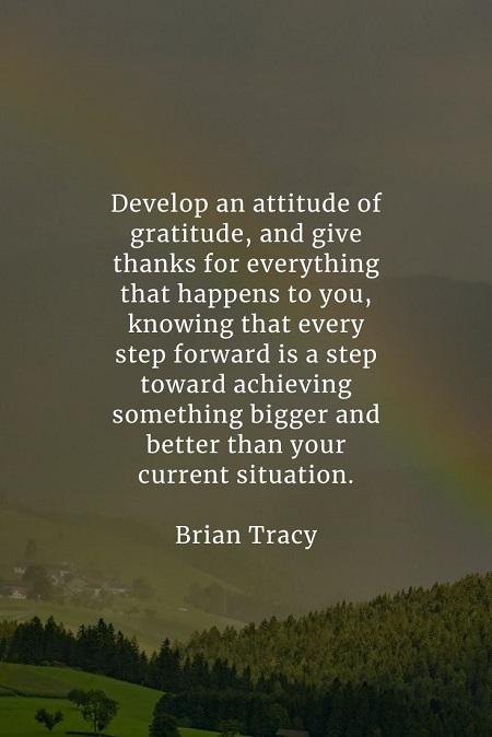 Gratitude quotes that'll inspire you become appreciative