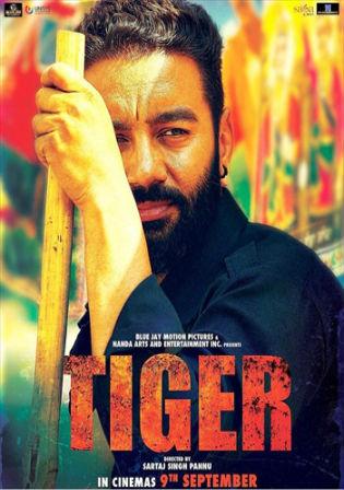 Tiger 2016 HDRip 950MB Punjabi Movie 720p