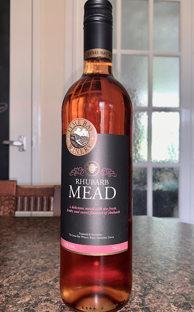 Rhubarb Mead Lyme Bay Winery