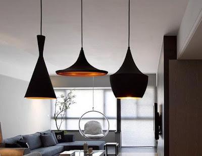 Cozy living room with modern lighting design ideas