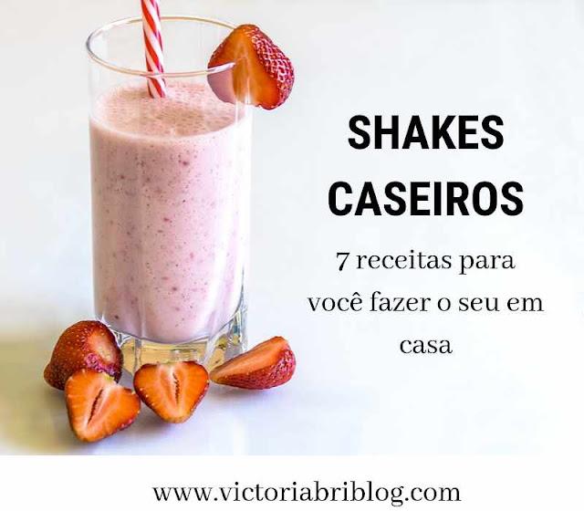 shakes para emagrecer caseiro