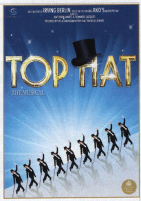 Top Hat The Musical Poster