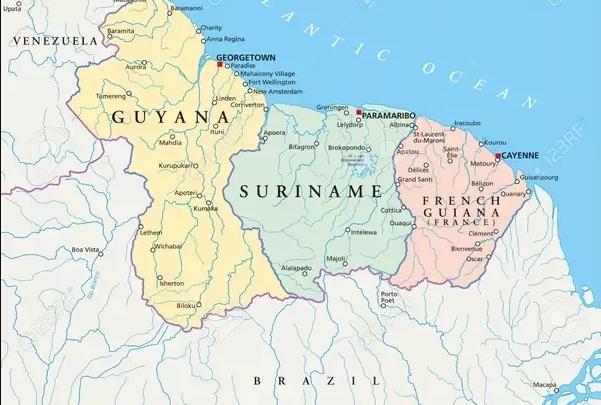 Territórios fazem fronteira com o Brasil (Reprodução)