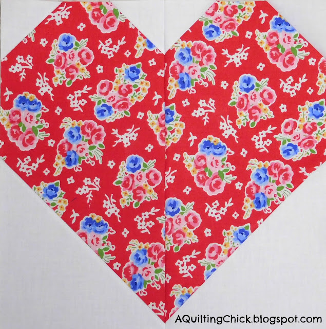 Sew Sweet Bee - Alicia Heart Block