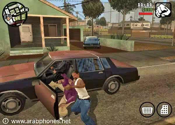 تحميل لعبة GTA San Andreas آخر اصدار مهكرة للاندرويد