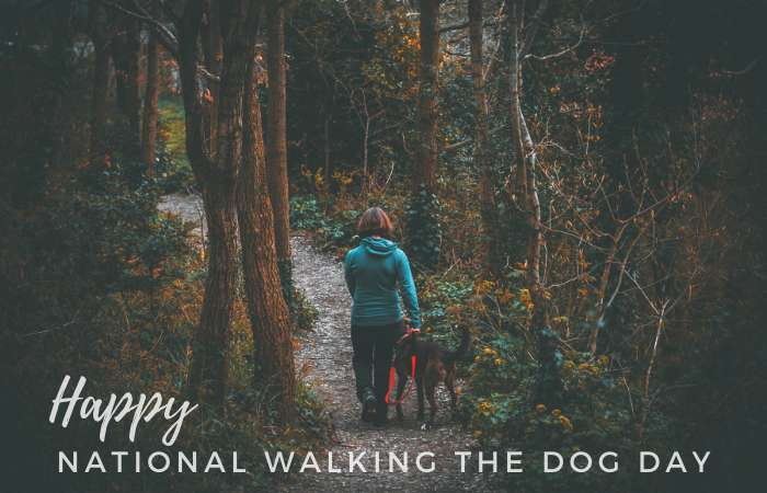 National Walking the Dog Day Wishes Images