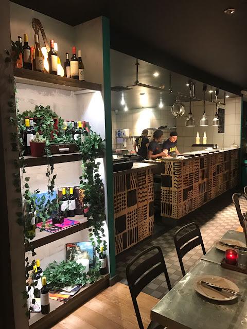 Bossa Grill, Leeds interior