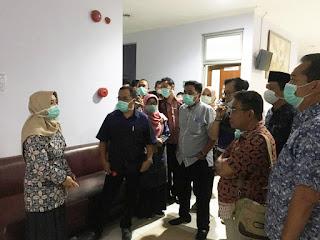 Tinjau RSU Dr Wahidin Sudiro Husodo, Komisi III Pastikan Kesiapan Penanganan Pasien Covid-19