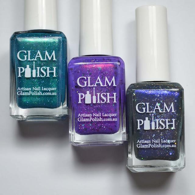 nail polish bottle flat lay