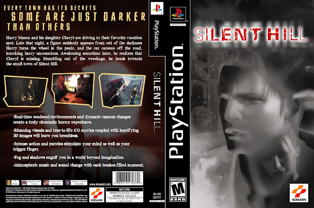 Capa Silent Hill Playstation