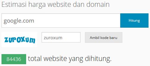 Cara Mengetahui Harga Sebuah Website Atau Blog Cara Mengetahui Harga Sebuah Website Atau Blog