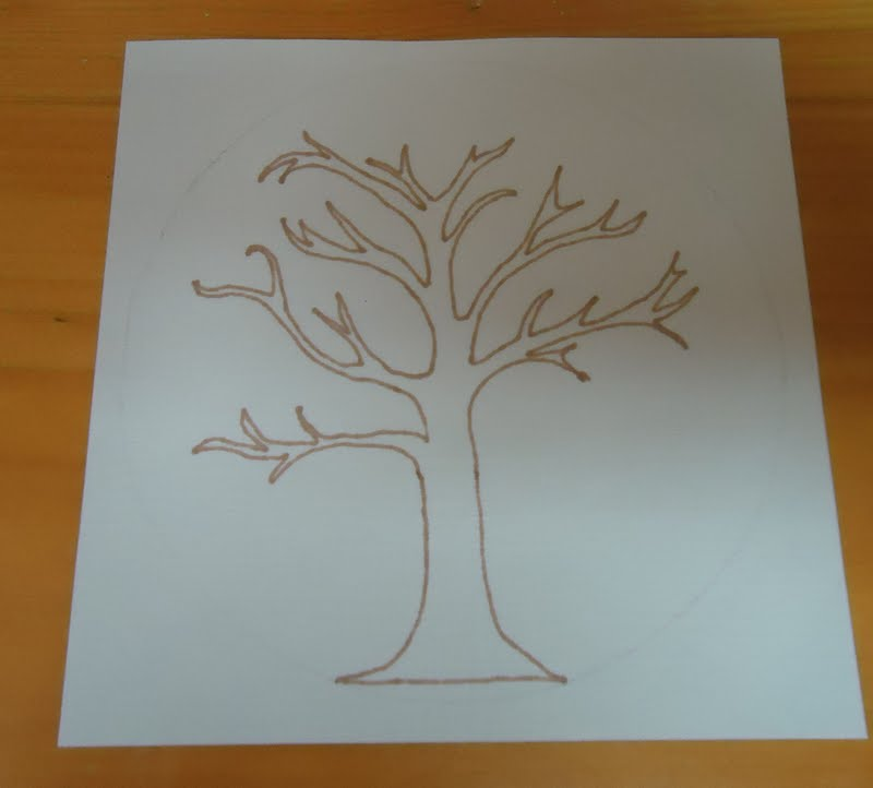 friendship tree template to the lesson friendship tree