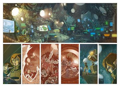 Haven City berdasarkan novel grafik