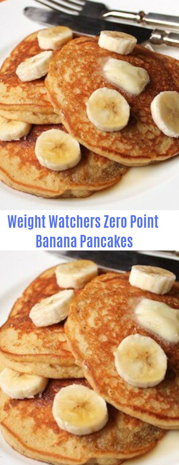 Weight Watchers Zero Point Banana Pancakes