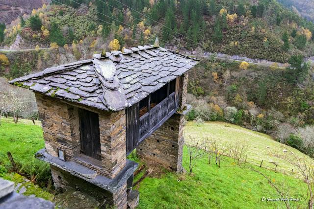 Esquíos, cabazo, Taramundi - Asturias