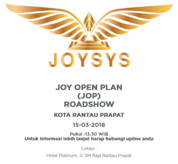 Presentasi JOP Perdana Joybiz di Kota Rantau Prapat