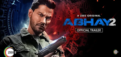 Download ABHAY 2 movie download HD quality on Zee5 free 2020
