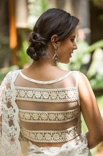 blouse back neck design