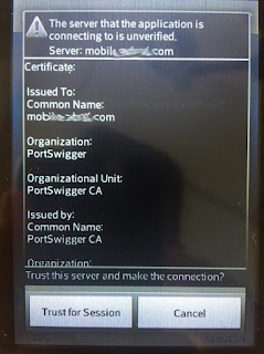 Aplicación que alerta de Certificado Falso imagen