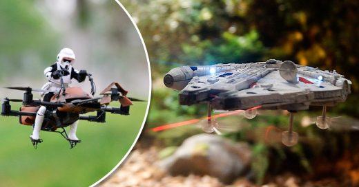 Los nuevos drones de Star Wars, ¡son espectaculares!