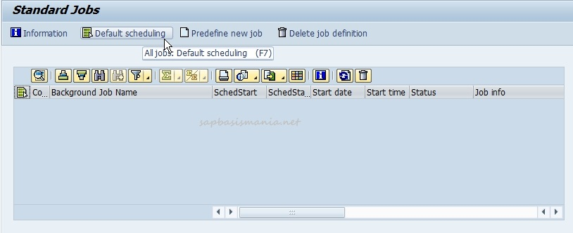 Raj SAP Basis: How to define standard SAP Housekeeping Jobs
