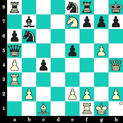 Les Blancs jouent et matent en 2 coups - Yury Shulman vs Ilia Botvinnik, Minsk, 1994