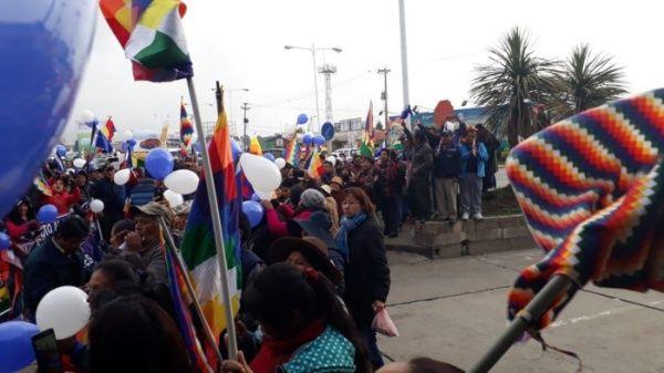 Evo Morales inscrito como candidato al Senado de Bolivia