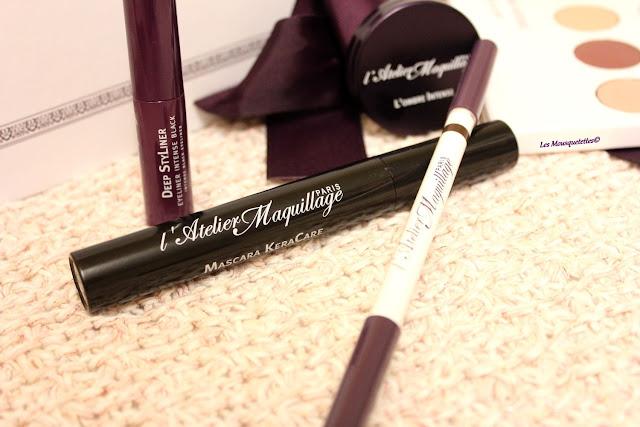 Mascara KeraCare - L'Atelier Maquillage - Blog beauté Les Mousquetettes©
