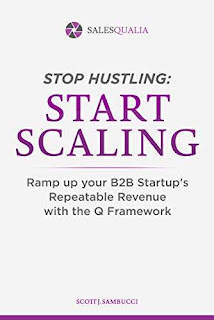 Stop Hustling, Start Scaling: Ramp Up Your Startup's Repeatable Revenue with The Q Framework free book promotion Scott Sambucci