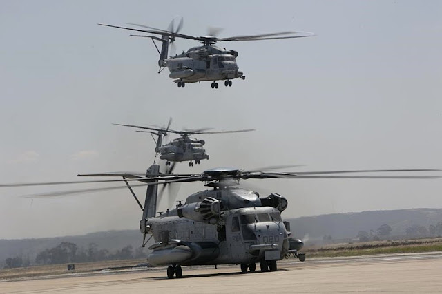 CH-53E one million flight hours
