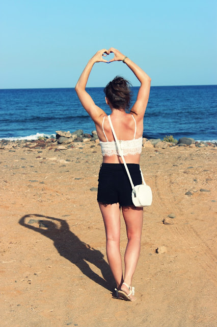 Lace Top. / Holiday - Fuerteventura part 1.