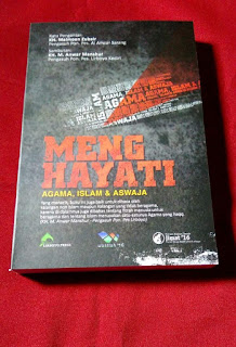 Buku Menghayati Agama, Islam dan Aswaja Toko Buku Aswaja Surabaya