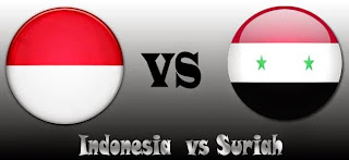 Indonesia  vs Suriah