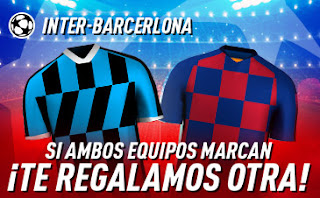 sportium promo champions Inter vs Barcelona 10 diciembre 2019