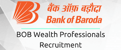 BOB Wealth Professionals Recruitment