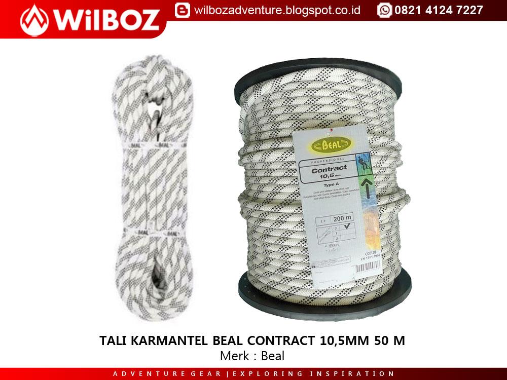 Tali Karmantel Beal Contract 10 5mm 50 Meter Toko Outdoor Wilboz Adventure Kediri