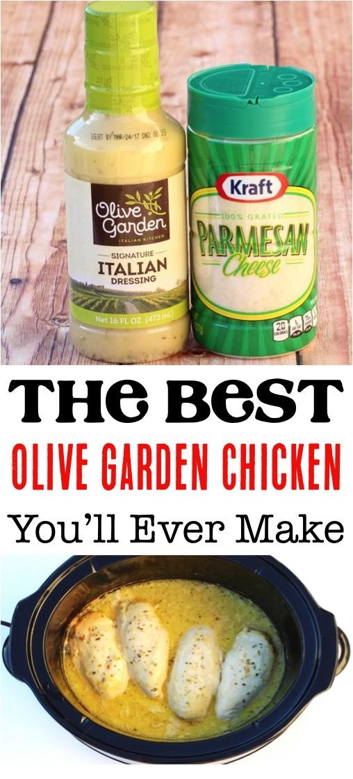 Crockpot Olive Garden Chicken