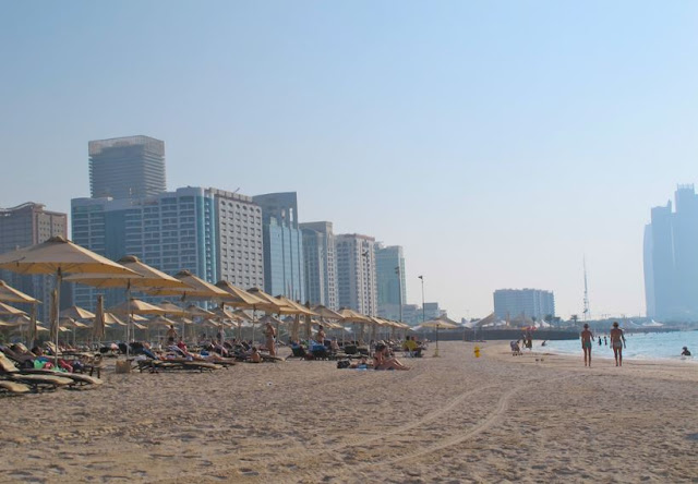 Abu Dhabi's beaches and gardens are closed to maintain public health