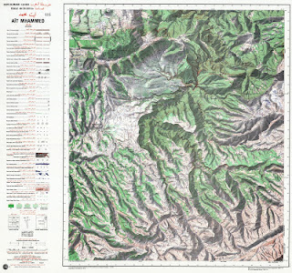 Ait-MHAMMFD Morocco 50000 Topographie