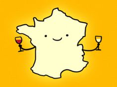 French Wine Image Representation Imagery