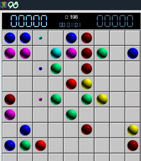 Line 98 online - Chơi game Line 98 màn hình rộng cũ cực hay b