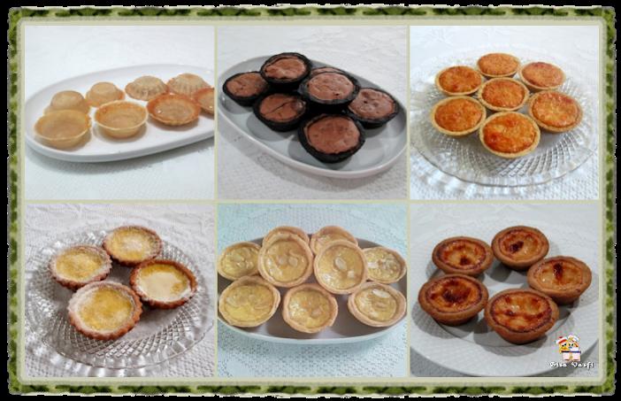 Massas básicas para tortinhas doces 1