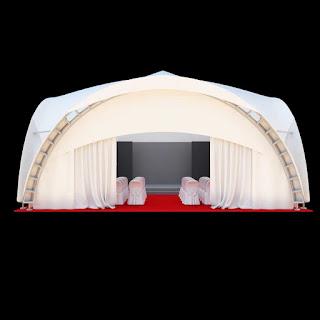 Tent 10x10 Meter 3d model