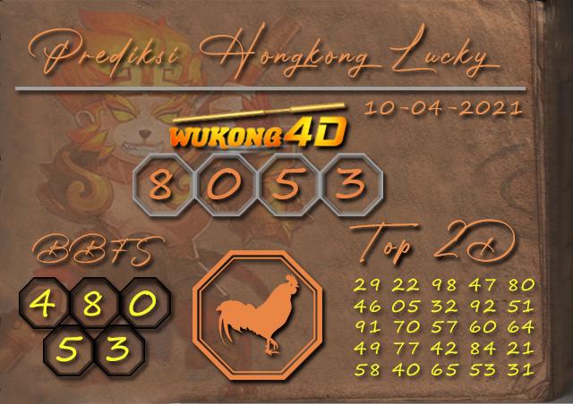 PREDIKSI TOGEL HONGKONG LUCKY 7 WUKONG4D 10 APRIL 2021