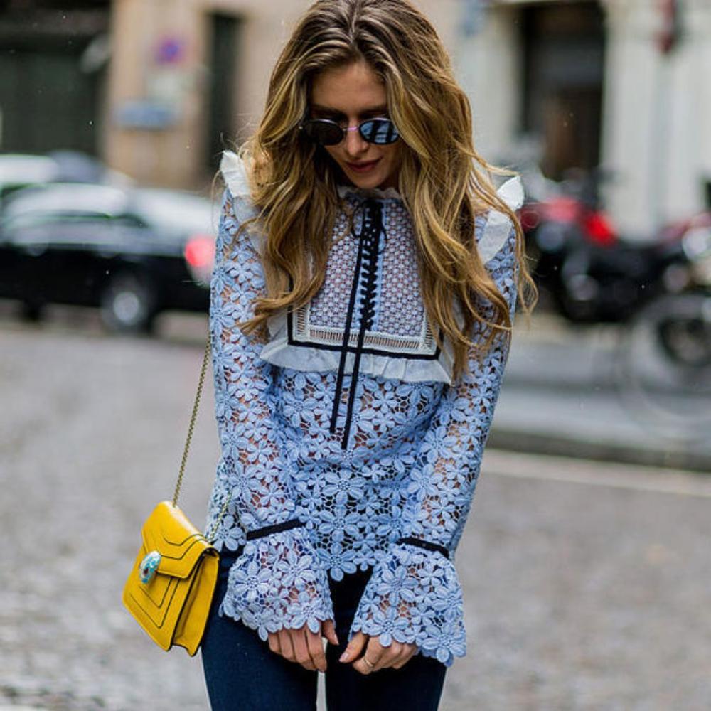 Blusentrends 2019 -  'Normal' kann ja jeder, diese Blusen sind etwas ganz Besonderes!